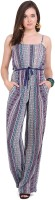 Global Colours Printed Women's Jumpsuit - JUME2FACVBSGKNG3