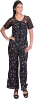 Coolquotient.In Printed Women's Jumpsuit - JUME25NEFGD6BVWR
