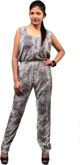 Fbbic Animal Print Women's Jumpsuit