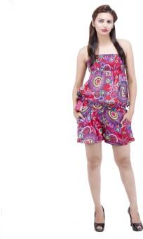 Jaipur Kala Kendra Floral Print Women's Jumpsuit - JUME6NV3S8PPFPSC
