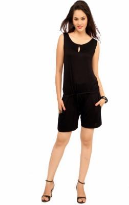 Simple Jumpsuit  Cottinfab Solid Women39s Jumpsuit Size Xl Online Shopping