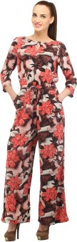 Cottinfab Floral Print Women's Jumpsuit