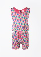 FS Mini Klub Printed Girl's Baby Girl's Jumpsuit - JUMDWTBNQPG4QKER