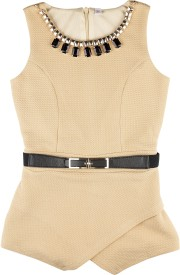 Hunny Bunny Solid Girl's Jumpsuit