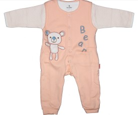 Child World Animal Print Baby Boy's Jumpsuit