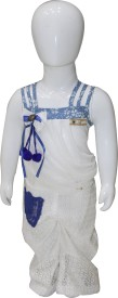 The Lichee Self Design Girl's Jumpsuit
