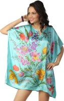 Love From India Floral Print Polyester Women's Kaftan - KAFE2K426WYHY747