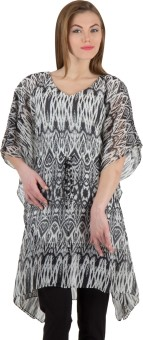 Famous By Payal Kapoor Printed Cotton Women's Kaftan - KAFE7KY4MGQGVGGM