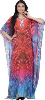 Roopali Creations Printed Georgette Digital Print Women's Kaftan - KAFE6Q95SNHZYHVF