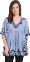 Global Colours Self Design Cotton Women's Kaftan - KAFEFSDP9RQAEKNM