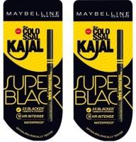 Maybelline New York Colossal Super Black Kajal 0.70 G (Black)