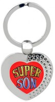 SKY TRENDS Super Son Heart Metal Key Chain