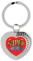 SKY TRENDS Super GirlFriend Heart Metal Key Chain