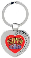 SKY TRENDS Super Husband Heart Metal Key Chain