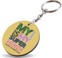 SKY TRENDS GIFT My Dad Is My Super Hero ! Gifts For Special Father's Day Key Chain