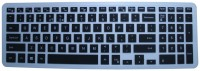 Illios KSDE09 Silicon Rubber Protector Cover For Dell Vostro 3549 Notebook 15.6 Inch Laptop Keyboard Skin (Black)