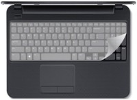 QP360 Keysafe Protector For Dell Inspiron Home & Office Core I5 (15.6 Inch) Laptop Keyboard Skin (Transparent)