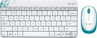 Logitech MK240 Wireless Keyboard And Mouse Combo (white) (White)
