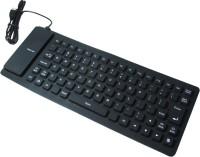 Super Fk01 Wired USB Flexible Keyboard (Black)