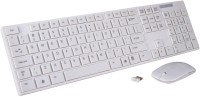 Techshoppe K688 Wireless Keyboard & Mouse Combo (White)