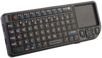 Super-IT 2.4 Ghz Wireless Keyboard With Trackpad And Laser Pointer USB Receiver Keyboard & Mouse Combo (Black)