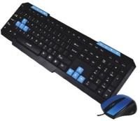 PUNTA P-KB535CM Wired USB Keyboard & Mouse Combo (Black)