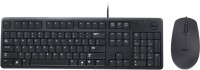 Dell KB212, MS111 Wired USB Keyboard & Mouse Combo (Black)