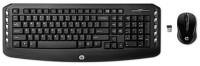 Hp J8f13aa#Acj Wireless Keyboard & Mouse Combo (Black)