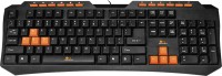 Sensor S-K305 Wired USB Multimedia USB Keyboard (Black)