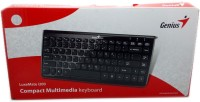Genius LuxeMate Wired USB Multimedia USB Keyboard (Black)