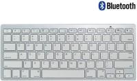 Callmate Bluetooth Keyboard With B.T USB Dongle - Silver Bluetooth Standard Keyboard (Silver)