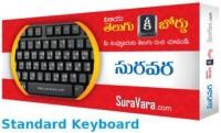 Suravara VKL 320 USB Standard Keyboard (Black)