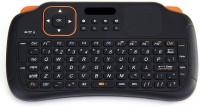 Spot Dealz Mini Wireless KB5 Bluetooth Tablet Keyboard (Black, Orange)