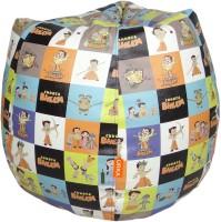 ORKA Chhota Bheem Leatherette S Teardrop Kid Bean Bag (Bead Filling, Color - Multicolor) - KBBEG3WJHDU56XNG