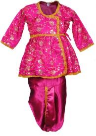 Pakhi Fashions Baby Boy's Angarkha and Dhoti Pant