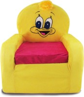 Tabby Toys Animal Theme Duck Kids Sofa Foam Sofa (Finish Color - Yellow)