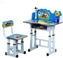 Royal Oak Engineered Wood Study Table (Finish Color - Blue) - KDTEAZ9YQMHZJ5BC