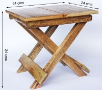Vincy Solid Wood Activity Table (Finish Color - Mango Wood Brown)