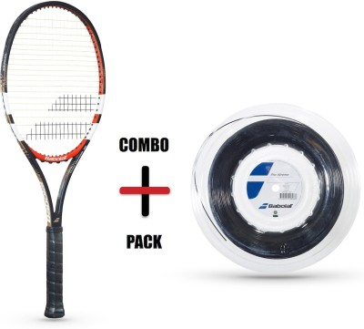 Babolat Babolat Combo Pack - Pure Control 95 Gt Un-Strung And Pro Xtreme X 200M Tennis Kit (Multicolor)