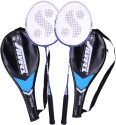 Silver's SB-818 Badminton Kit - 2 Racquets With Cover