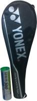 Yonex (Combo Pack) Nanoray 7000i And Mavis 300 (yellow Pack Of 6) Nylon Shuttle Cock Badminton Kit