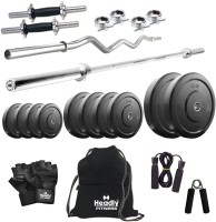 Headly 100 Kg Combo 2 Home Gym & Fitness Kit