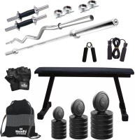 Headly 46 Kg Combo BB 7 Convenient Gym & Fitness Kit