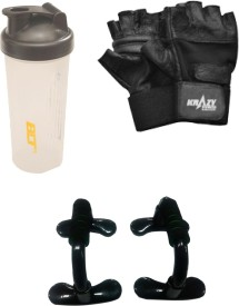 Krazy Fitness Exercise Accessories Combo 3 Gym & Fitness Kit