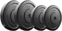 Headly 10 KG RUBBER WEIGHT Gym & Fitness Kit