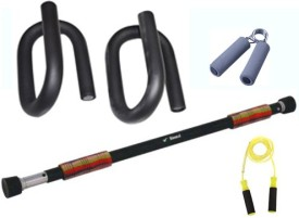 Krazy Fitness Exercise Equipments Combo 3 Gym & Fitness Kit