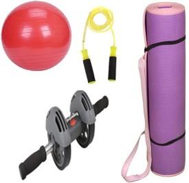 Krazy Fitness Exercise Equipments Combo-2 Gym & Fitness Kit
