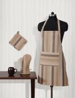Shahenaz Home Shop White Cotton Kitchen Linen Set Pack Of 3