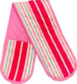 Niven Pink Cotton Kitchen Linen Set