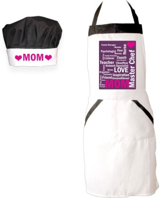Giftsmate Mothers Day Cotton Kitchen Linen Set White, Pack Of 2 - KLSE6ZWYETMEUNRP